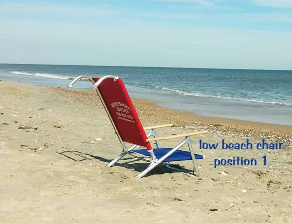 low beach chair position 1